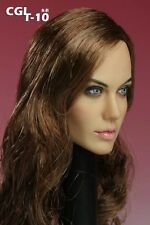 """CGL 1/6 Scale Female head Sculpt F 12"""" Hot Toys Phicen Action Figure doll T-10"""