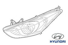 Genuine Hyundai i30 Estate Head Light LH Passenger Side - 92101A6030
