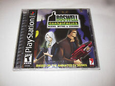 Roswell Conspiracies: Aliens, Myths & Legends (PlayStation PS1) Brand New Sealed