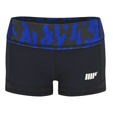 MyProtein Athletic Frauen Shorts L Blue Structure Fitness Hose tights Leggings