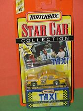 Matchbox Star Car Collection Sunshine Cab From The TV Show Taxi #804 - BRAND NEW
