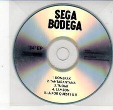 (DS613) Sega Bodega, 34 EP - DJ CD
