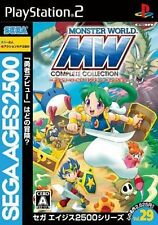Used PS2 Sega Ages 2500 Vol. 29: Monster World  SONY PLAYSTATION 2 JAPAN IMPORT