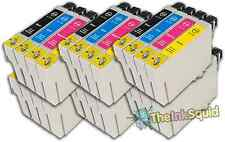 24 T0715 non-OEM Ink Cartridges For Epson T0711-14 Stylus DX6050 DX7000F DX7400