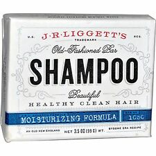 J.R. Liggett's, Moisturizing Formula Old-Fashioned Bar Shampoo, 3.5 oz (99 g)