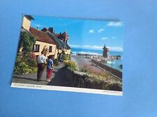 VINTAGE POSTCARD OF THE HARBOUR LYNMOUTH DEVON JOHN HINDE ORIGINAL