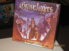 GRAVEDIGGERS Board Game from REINER KNIZIA HORROR HALLOWEEN 100% Complete