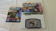 Micro MachiNES Turbo Nintendo 64 N64 Game Complete CIB!