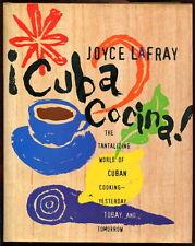 LaFray CUBA COCINA Cuban Cuisine Cookbook 1994 HC/DJ CLASSIC & NUEVO Recipes