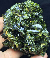 248g  Natural GREEN Tourmaline Crystal Rough Stone Rock Specimen