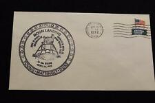 SPACE COVER 1972 MACHINE CANCEL APOLLO 16 TOUCHDOWN ON THE MOON (2582)