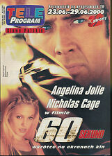 TELE PROGRAM 2000/25 (23/6/2000) ANGELINA JOLIE NICOLAS CAGE  ANISTON (3)
