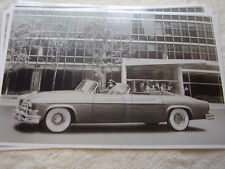 1954  CHRYSLER IMPERIAL CUSTOM  PHEATON   11 X 17  PHOTO   PICTURE