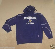 Minnesota Vikings NFL Football Men's 4XL Hooded Sweatshirt New XXXXL