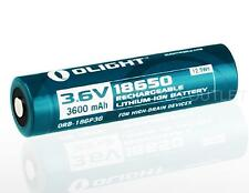 Olight 3600mAh 18650 High Capacity Protected Rechargeable Battery ORB-186P36