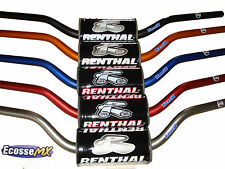 New Renthal Fat bar Handlebars Motocross Black MX Low 672-01-BK RMZ YZ CRF CRF