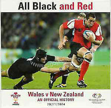 Wales v New Zealand All Blacks official history DVD All Black and Red - Rugby