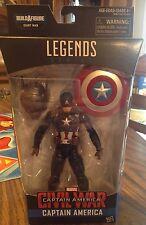 Captain America Civil War Marvel's Legends Series Captain America Build a Figure