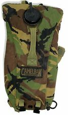 (1) BRITISH ARMY CAMELBAK WATER CARRIER HYDRATION PACK in WOODLAND CAMO