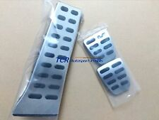 For 2016 2017 Hyundai Tucson 3x Sport MANUAL Foot Pedal Cover Kit, No-Drilling!