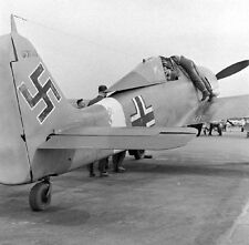 WW2 Photo WWII Captured German Luftwaffe Fw 190 Focke-Wulf  World War Two / 6130