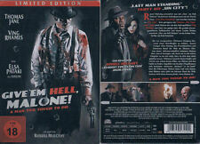 GIVE 'EM HELL, MALONE --- Limited Edition --- Steelbook --- Uncut --- Neu & OVP