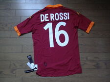 AS Roma #16 De Rossi 100% Original Jersey Shirt S 2012/13 Home Kappa BNWT Rare