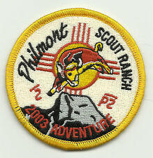 Philmont Scout Ranch 2003 Adventure Patch with Bull
