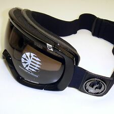 Dragon Rogue Polarized Snow Goggles-Jet Stealth Frame/Polar Jet Lens 722-3597