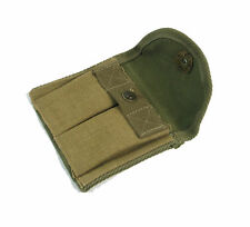 CA Collectable WWII US M1 Carbine Bag Ammunition Canvas Pouch Green Bag