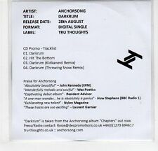 (EF423) Anchorsong, Darkrum - 2012 DJ CD