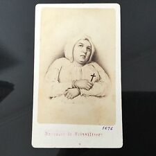 PHOTO CDV ANCIENNE Marquise De Brinvilliers 1860 PHOTOGRAPHE NEURDEIN XIXè