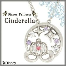 Disney Cinderella Silver925 necklace Pendant Pumpkin carriage New gift BOX Japan