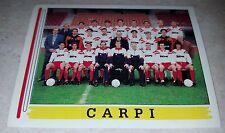 FIGURINA CALCIATORI PANINI 1994/95 CARPI 554 ALBUM 1995