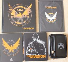 TOM CLANCY'S THE DIVISION NEW STEELBOOK + ARMBAND POSTER ARTBOOK PS4 PC XBOX