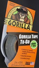 GORILLA TAPE 1 INCH X 30 FEET Heavy Duty Black Duct Tape #6100102
