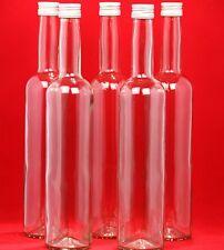 10 GLASFLASCHE 250 ml Schnapsflasche Saftflasche BOR Likör-Flasche Essig Flasche