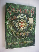 CREMATORY - INFINITY - BOX LTD. ED. CD/T-SHIRT/POSTER - 2010 NEW SEALED