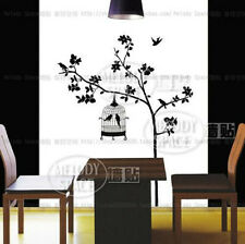 Birds in the tree Home room Decor Removable Wall Sticker/Decal/Decoration