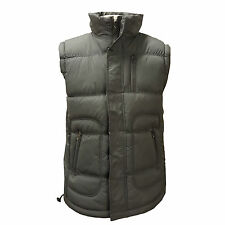 Mens Quilted Padded Lined Gillet Gilet Sleeveless Coat Body Warmer Jacket 2Sided