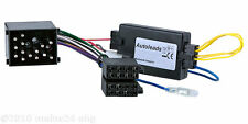 Bmw 3er e46 Radio Adaptador Cable Enchufe volante control remoto Interface Kenwood