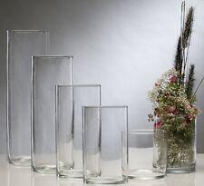Glasvase Cylinder ø 15, h 40 cm