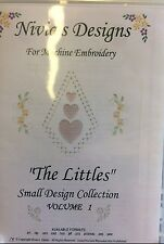 """NIVIA'S DESIGNS FOR MACHINE EMBROIDERY-""""THE LITTLES"""" SMALL DESIGNS-VOLUME 1"""