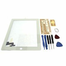 White Replacement Digitizer Touch Screen Glass Display For iPad 2 + 9 Tools