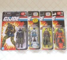 GI Joe 25th Anniv Bazooka Barbecue Ninja Ku Storm Shadow B.A.T.  Comic TV G1 Lot