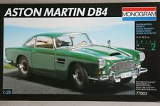 Monogram 77003 Aston Martin DB4 Model Kit 1/25 CONFEZIONE ORIGINALE SIGILLATA