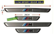 Steel Door Sill Scuff Protectors BMW M Sports X1 X3 X5 X6 1 3 7 Series 2007-15