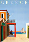 Art Ad Greece Travel Deco Poster Print