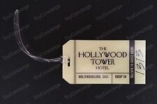 DISNEY Parks HOLLYWOOD HOTEL Tower of Terror LUGGAGE Tag NEW