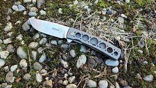 Couteau Boker Plus FR Titane Lame Acier VG-10 Manche Titane Frame 01BO740